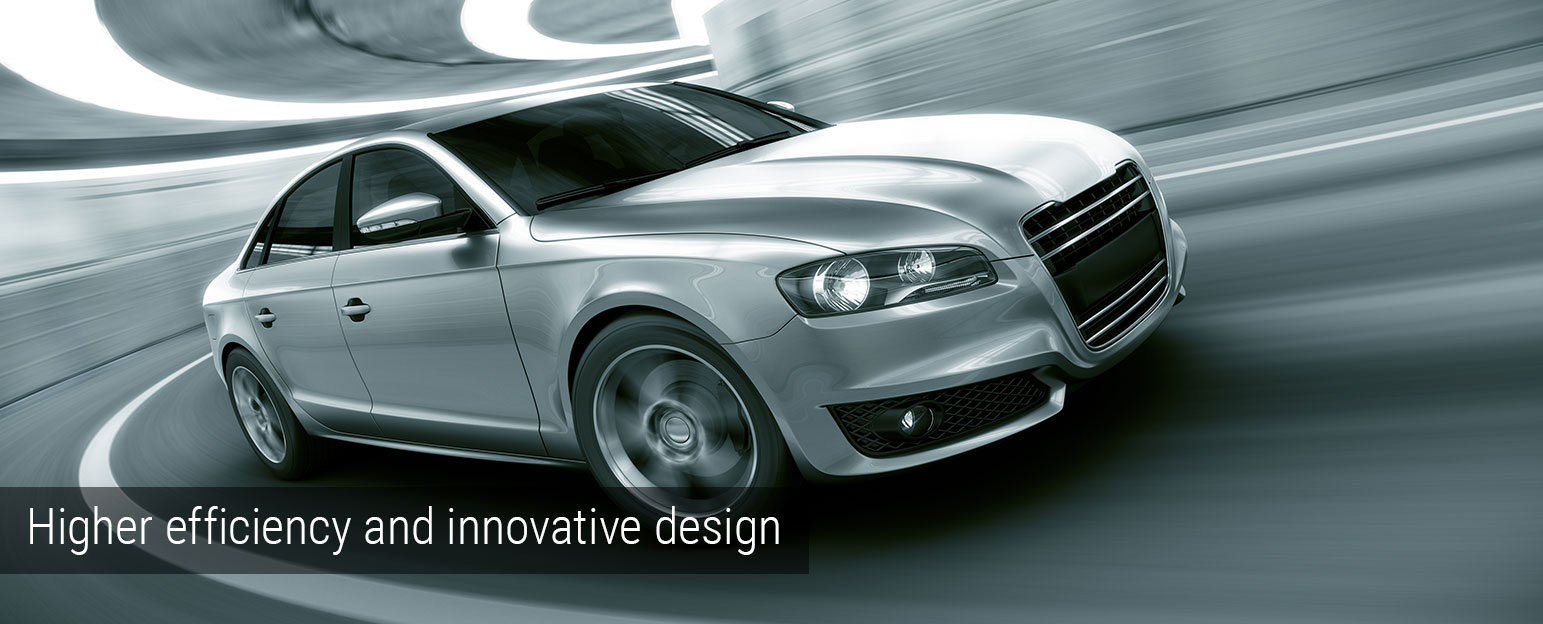 Higher efficiency and innovative design