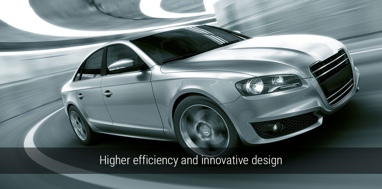 Higher efficency and innovative design